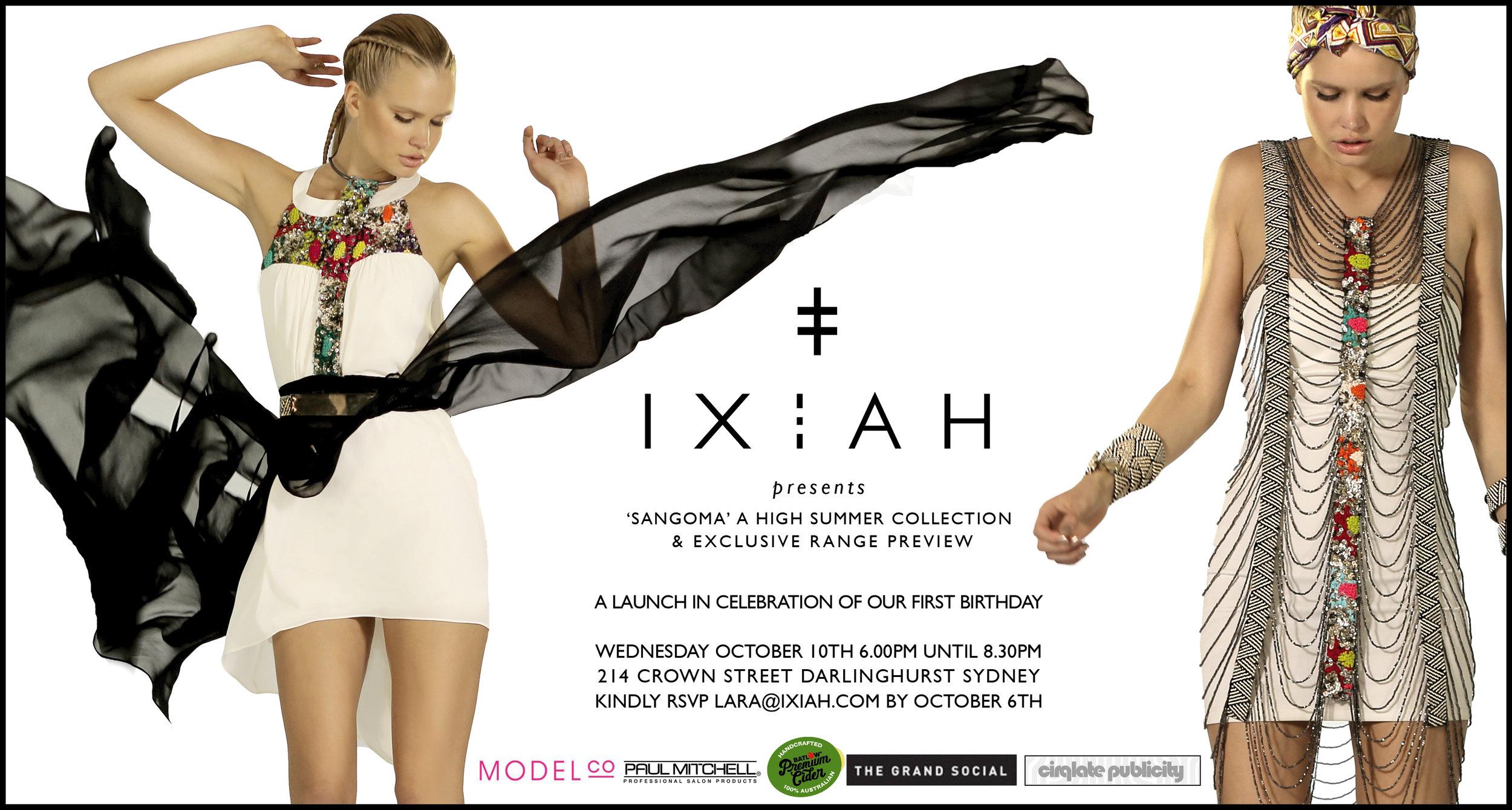 IXIAH+Launch+Invitation