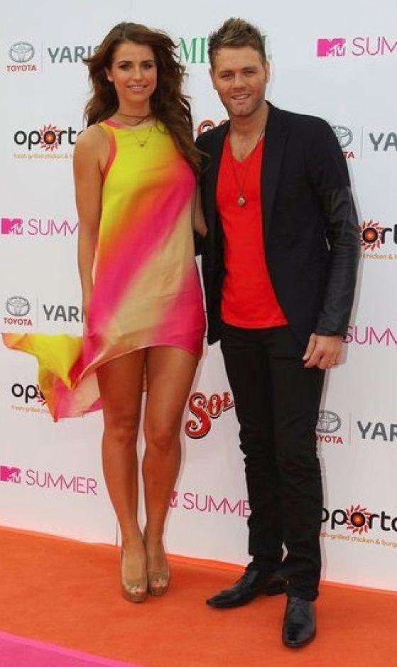 Vogue Williams & Brian Mc Fadden MTV Party