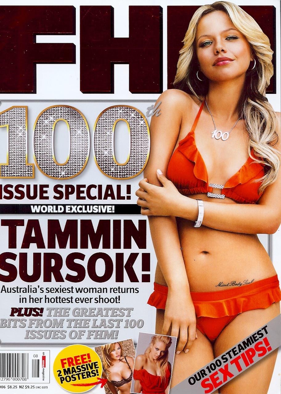 8.Tammin FHM cover